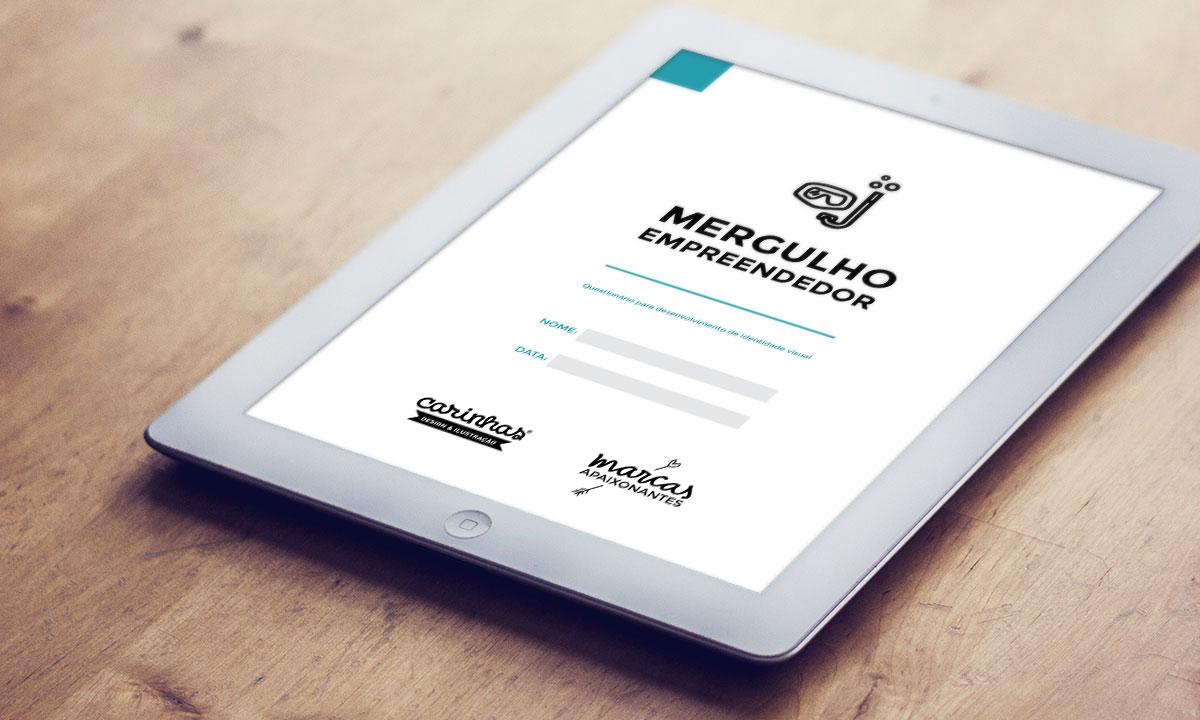 """Informação é o primeiro passo: conseguimos muitas respostas através do questionário """"Mergulho Empreendedor"""" - carinhas.com.br"""