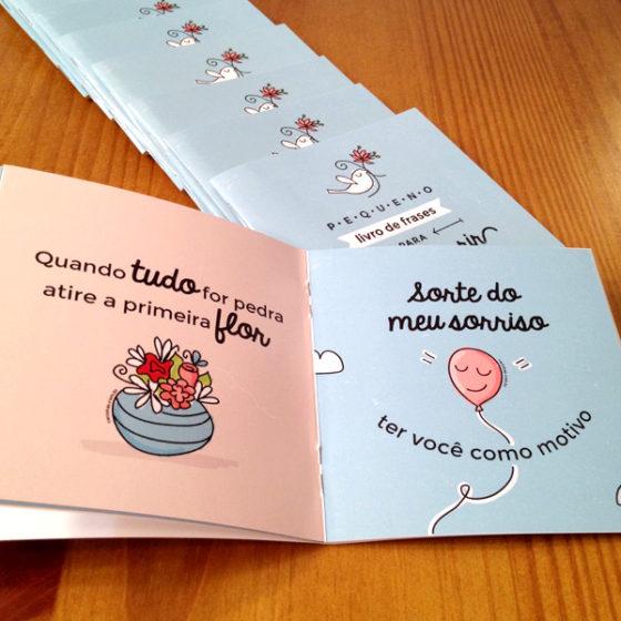 Pequeno Livro de Frases para Fazer Sorrir – Carinhas