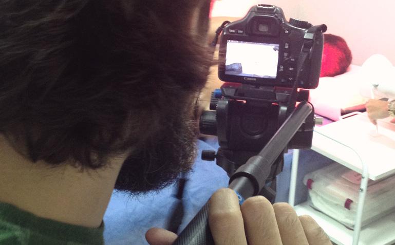 Ficamos a gravação toda de papagaio de pirata do Brener, da Imagética Filmes