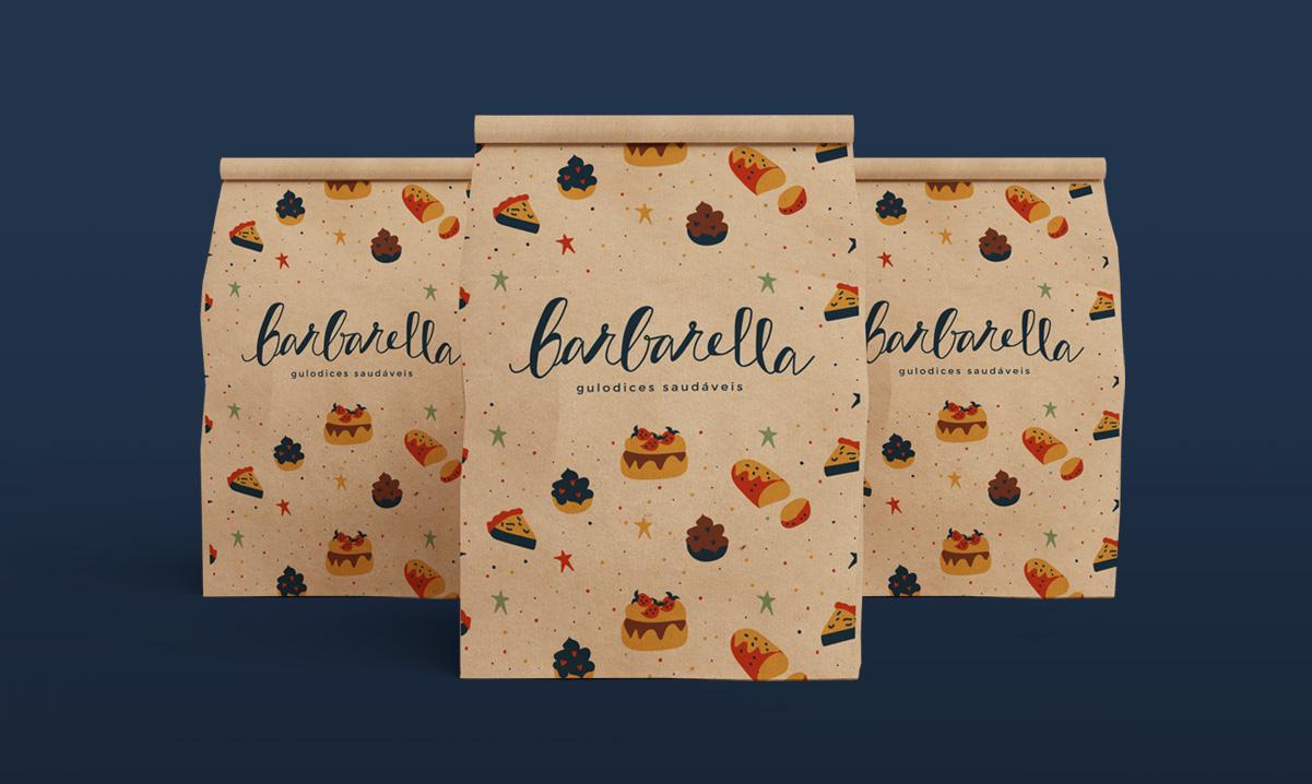 Barbarella, gulodices saudáveis - A tagline ajuda a posicionar a atividade da empresa