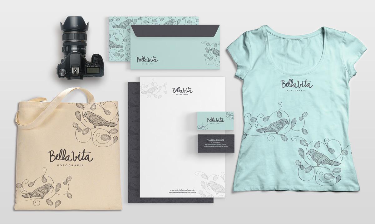 Bella Vita: uma marca de fotografia que desenvolvemos com nome em Italiano
