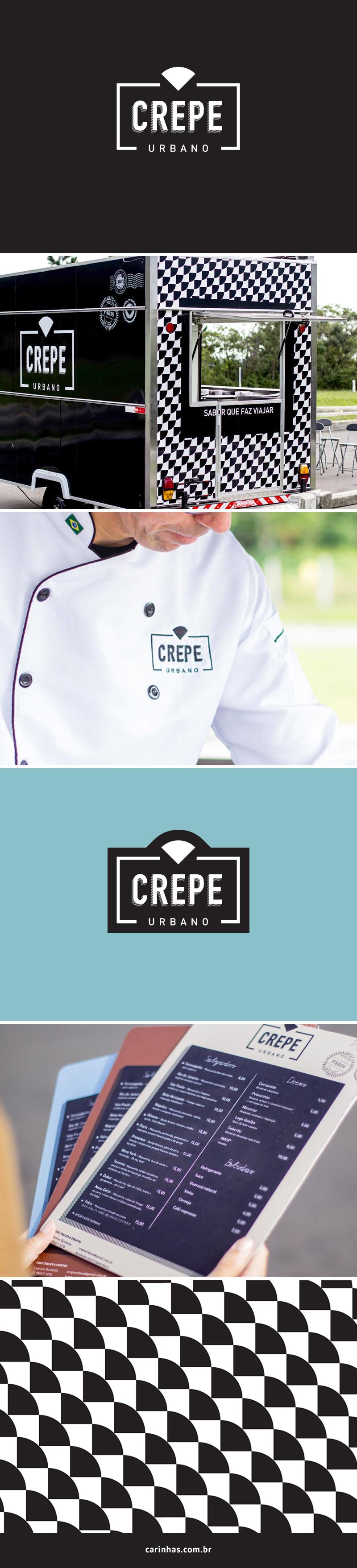 Crepe Urbano - Projeto de Marca Apaixonante para food truck