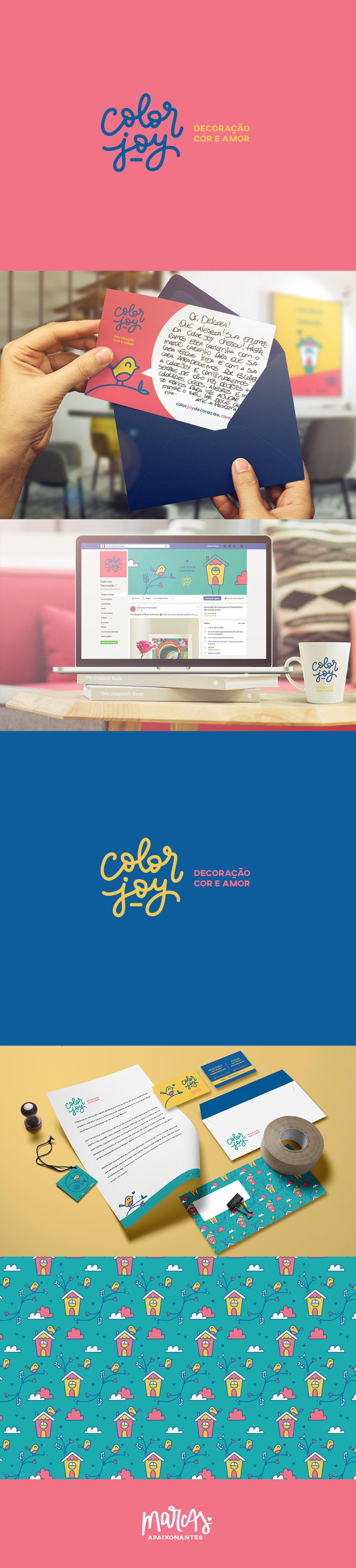 Marca Apaixonante para a ColorJoy - carinhas.com.br