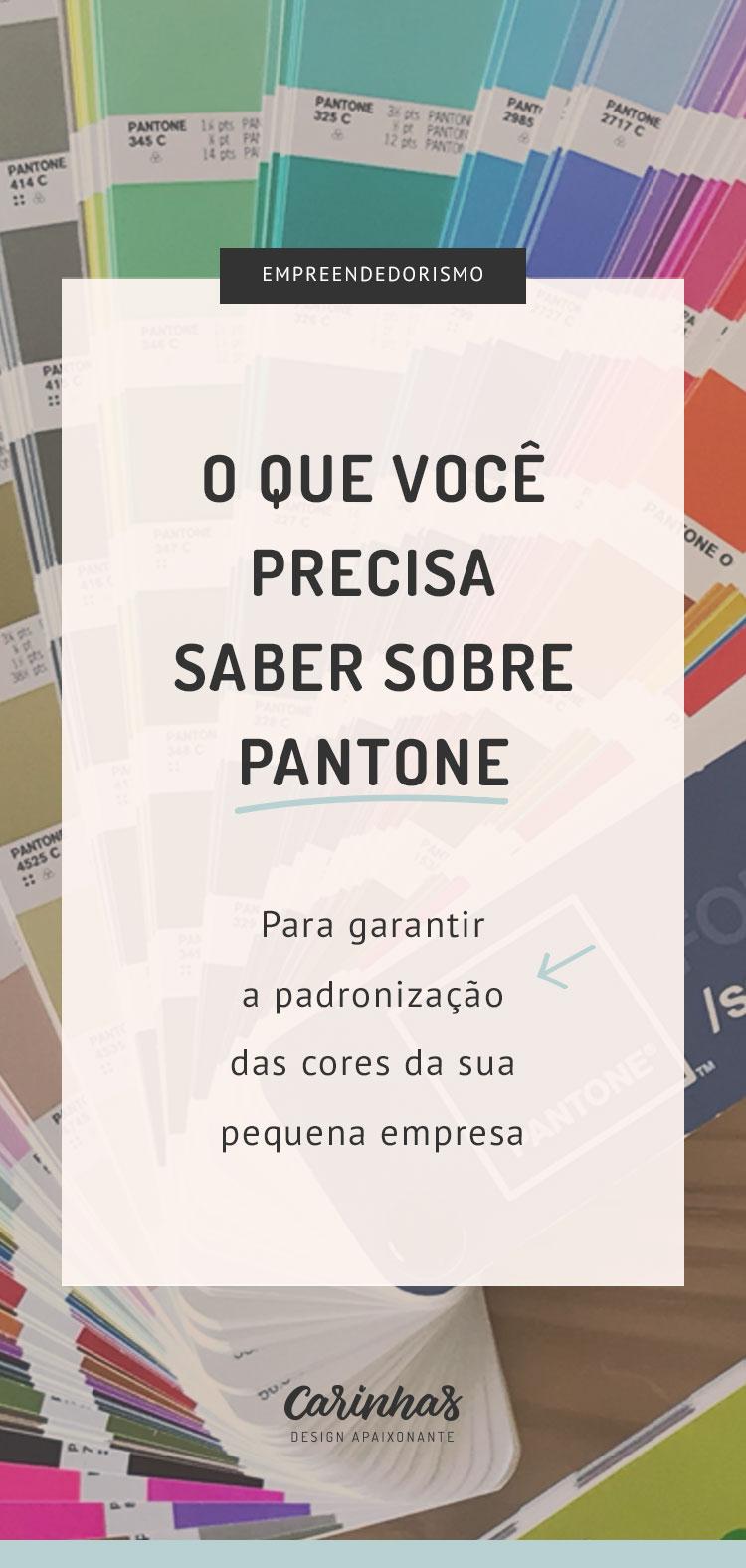 O que você precisa saber sobre Pantone para garantir a padronização das cores da sua pequena empresa
