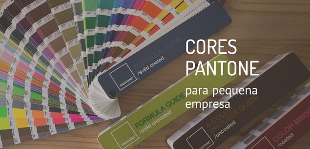 Cores Pantone para pequena empresa: o que são e para que servem?