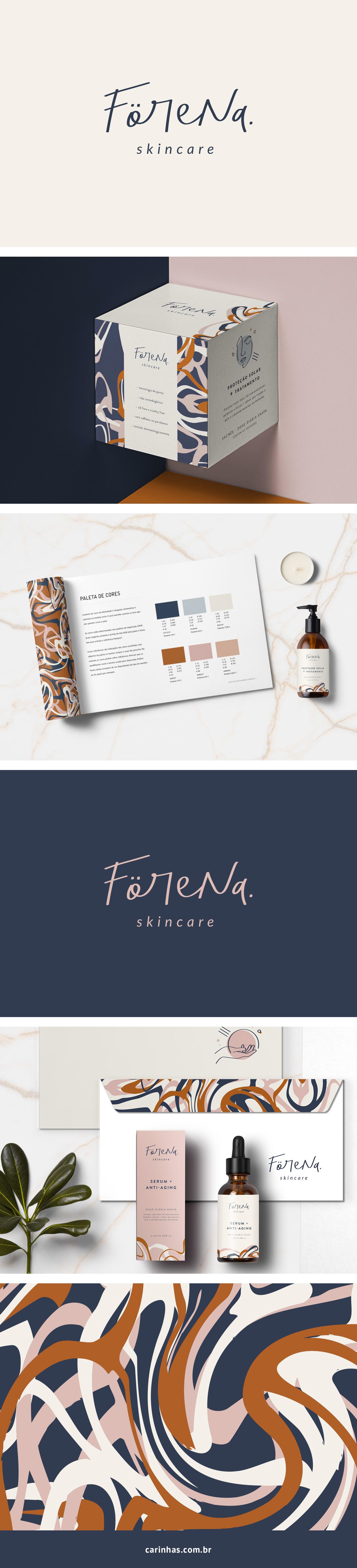 Marca Apaixonante para a Förena - skincare - carinhas.com.br