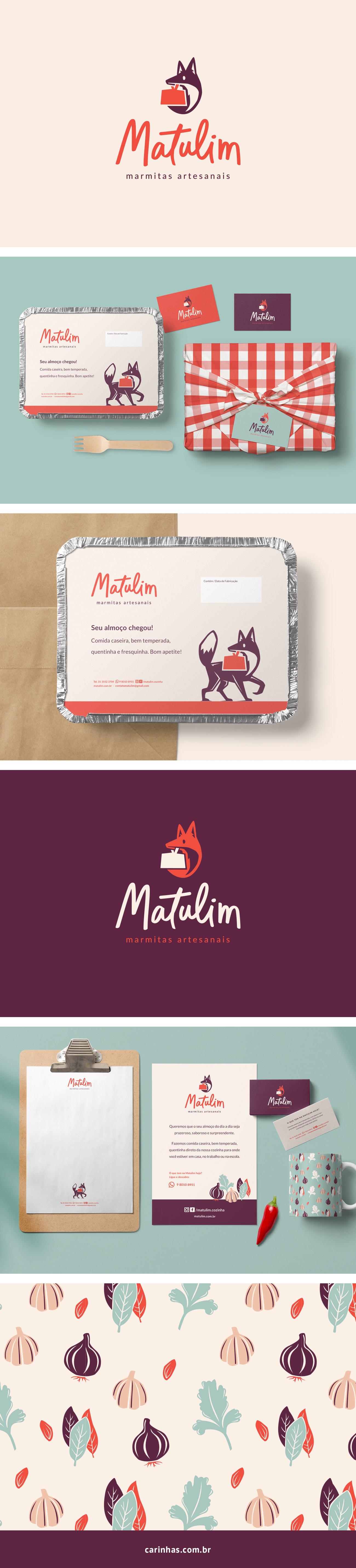 Marca Apaixonante para Matulim - carinhas.com.br