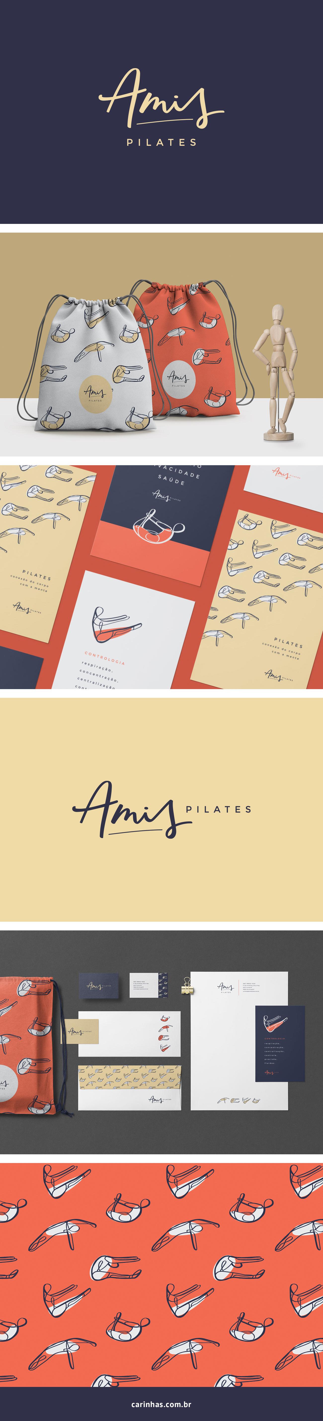 Marca Apaixonante para Amis Pilates - carinhas.com.br