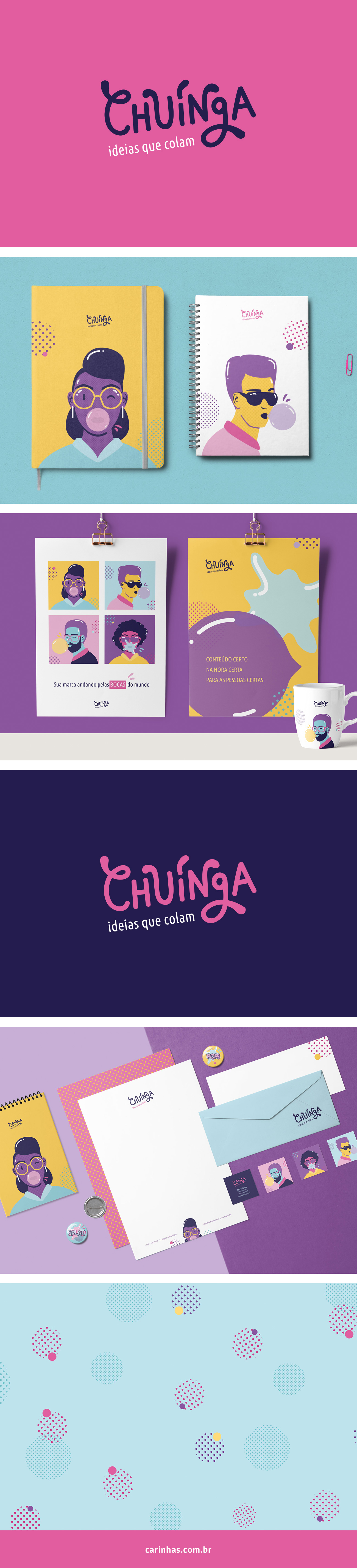 Marca Apaixonante para Chuínga - carinhas.com.br