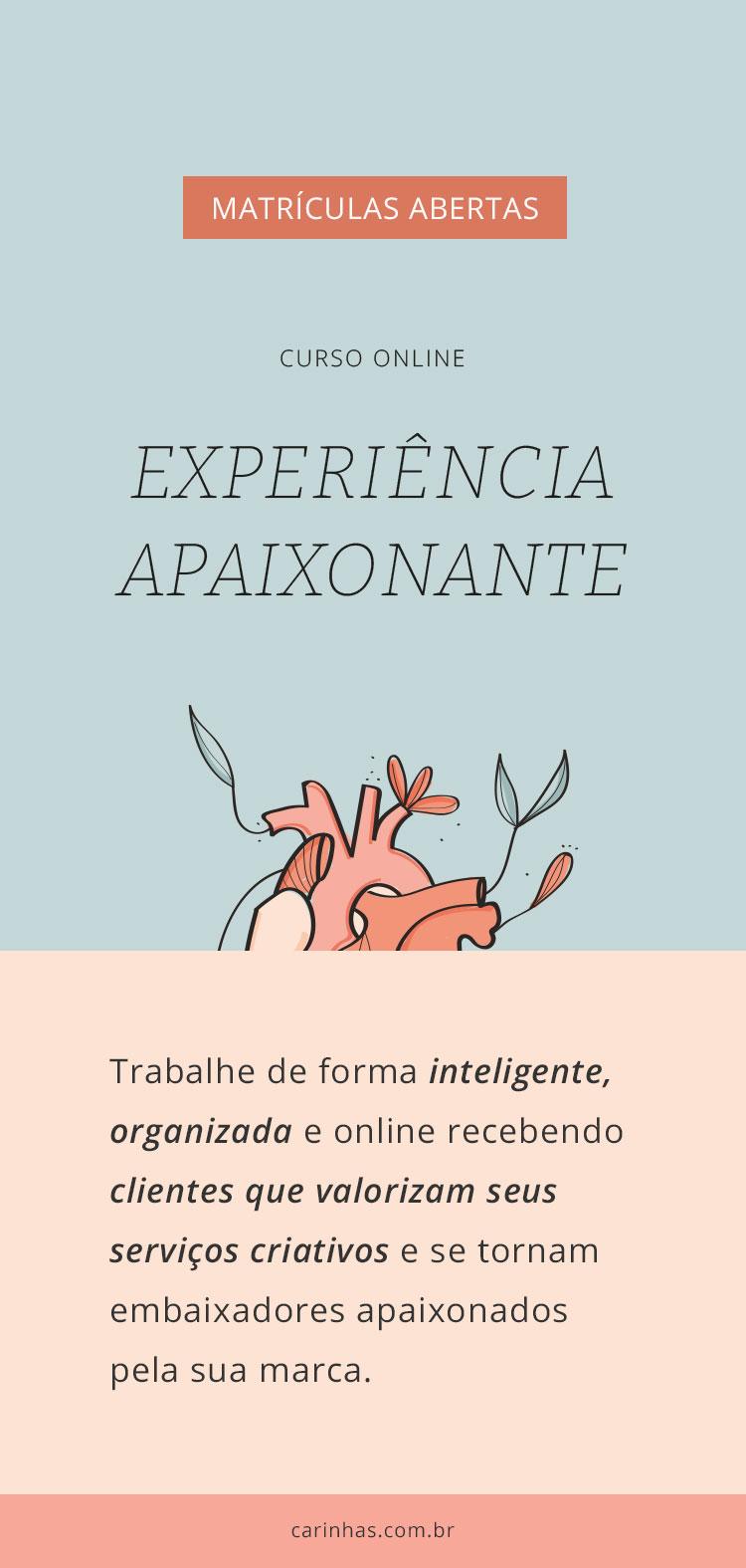 Curso Online Experiência Apaixonante