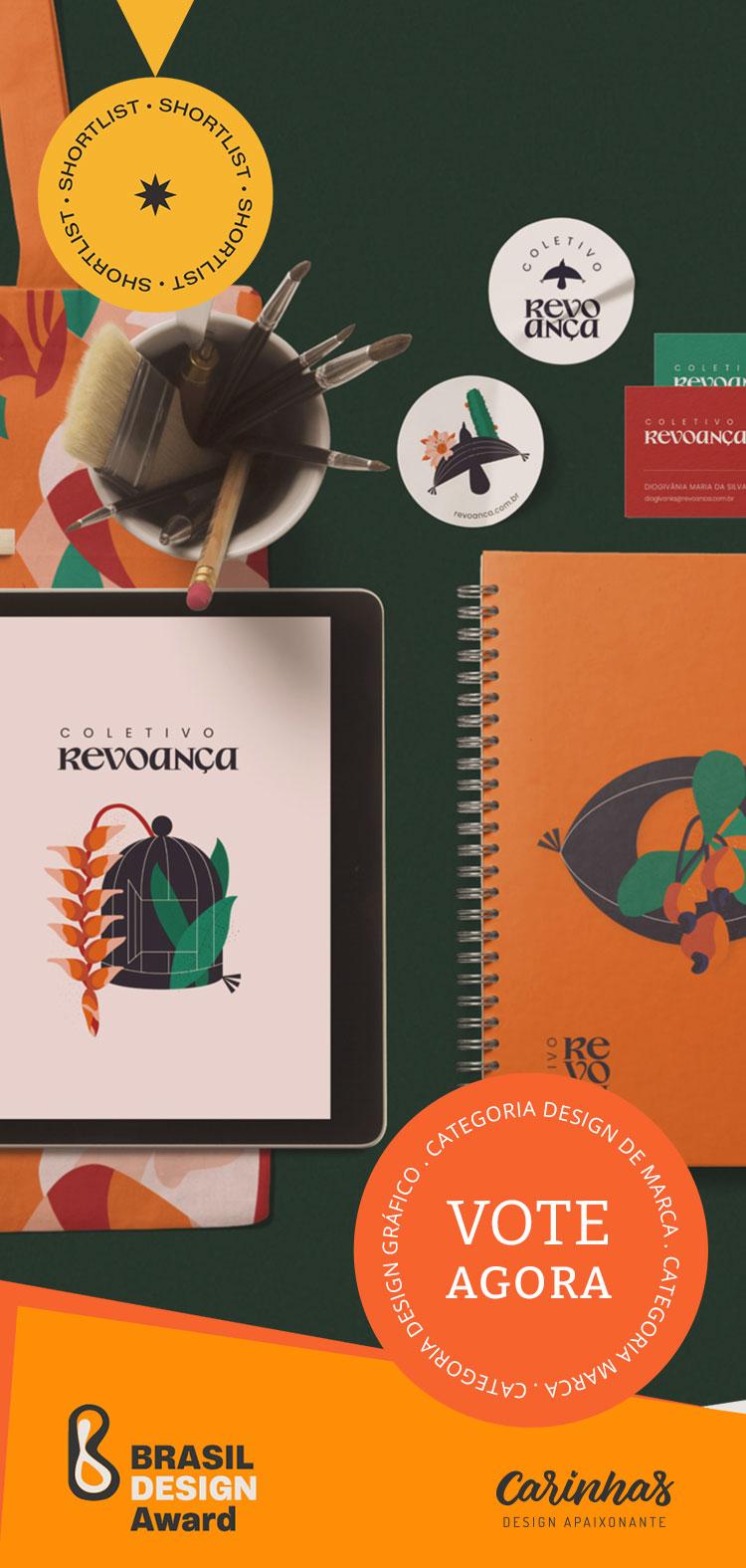 Vote agora: Brasil Design Award